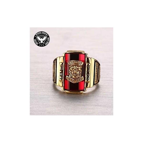 انگشتر کالج روکش طلا کانادایی مدل K18 سنگ قرمز CANADA جواهرات 580,000.00 580,000.00 580,000.00 580,000.00