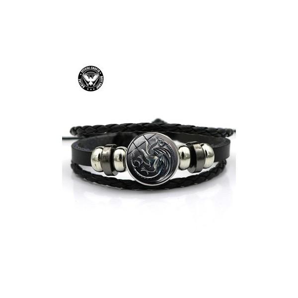 دستبند چرمی کریستالی دراگون ( گیم آف ترون ) جواهرات 80,000.00 80,000.00 80,000.00 80,000.00