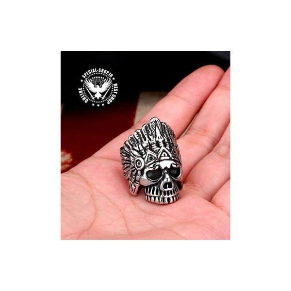 انگشتر مدل سرخپوست SKULL RING جواهرات 270,000.00 270,000.00 270,000.00 270,000.00