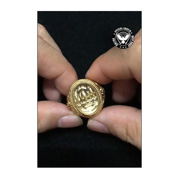 انگشتر روکش طلا سلطنتی ( دارای کلیپ تصویری ) WOLF جواهرات 600,000.00 600,000.00 600,000.00 600,000.00