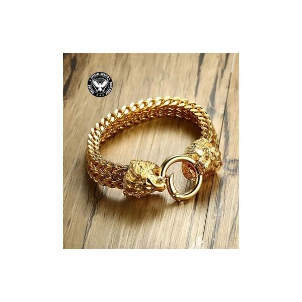 دستبند بینظیر شیر سلطنتی ( روکش طلا) CANADA جواهرات 1,400,000.00 1,400,000.00 1,400,000.00 1,400,000.00